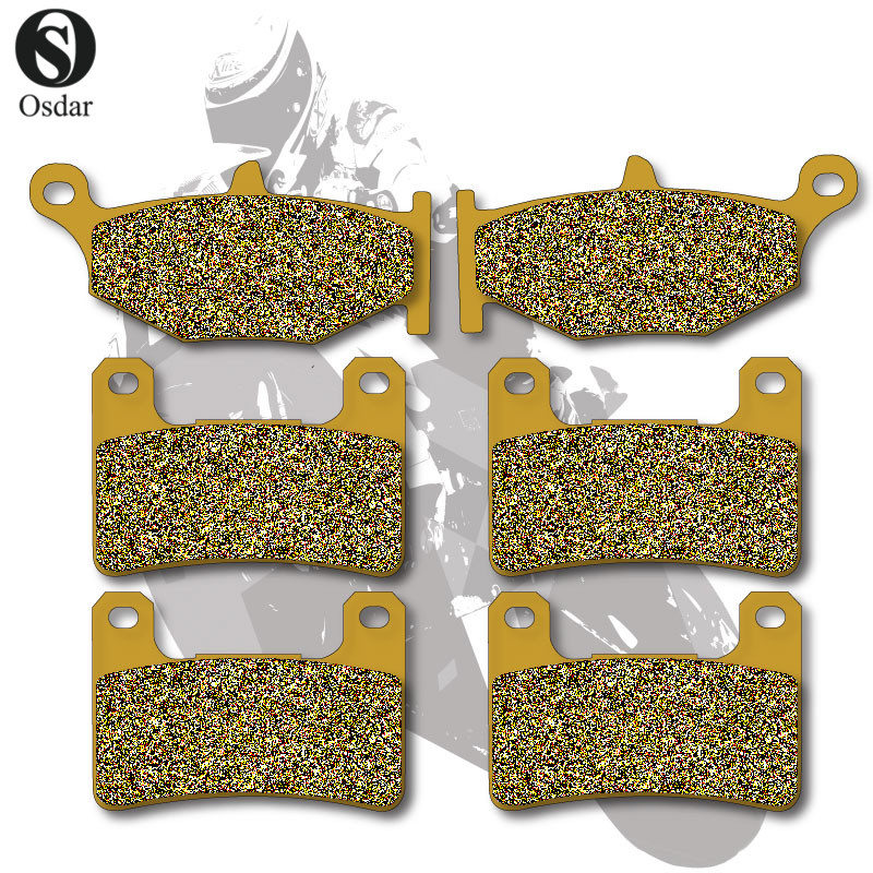 Motorcycle Brake Pads Front+Rear For SUZUKI GSXR 600 06-10 GSXR 750 06-10 GSXR 1000 07-0 ...
