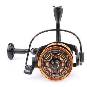 Image 4 - 2017 high quality Full Metal 4000 type 13 + 1BB No clearance fishing wheel sea Fishing Fishing line wheel DD2