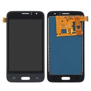 Image 2 - SM J120FN/F/DS Für Samsung Galaxy J1 2016 J120 LCD Display Touchscreen J120H J120FN J120F J120M Bildschirm einstellen Helligkeit Werkzeuge