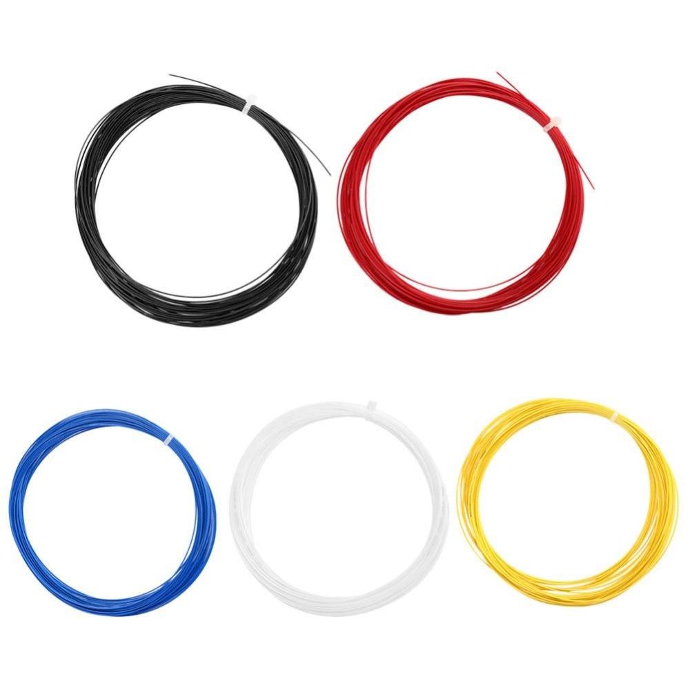 Nylon Carbon Elastic Durable Badminton Tennis Ball Trainning Sport Racket String