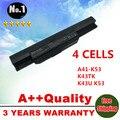 4 ячеек аккумулятор ноутбука A41-K53 для Asus A43 A53 K43 K53 X43 A43B A53B K43B K53B X43B A54LY A83 A83B A83B A83BR A83BY A83E A83S