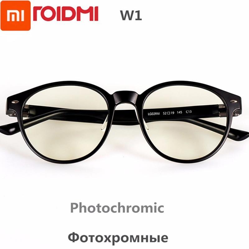 جديد شاومي ROIDMI W1 مضاد للأشعة الزرقاء اللونية واقية الزجاج الأذن صوت انفصال العين حامي عيون جيدة الزجاجالتحكم الذكي عن بعد   -