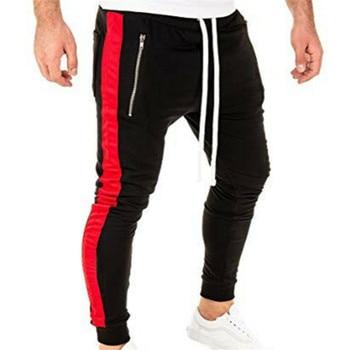men jogging pants striped sportswear
