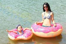 Beach Water Inflatable Doughnut font b Swimming b font Rings laps Giant Pool party font b