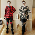 New winter cashmere cashmere with  become pregnant women pregnant women sweater suit camouflage abdominal suit