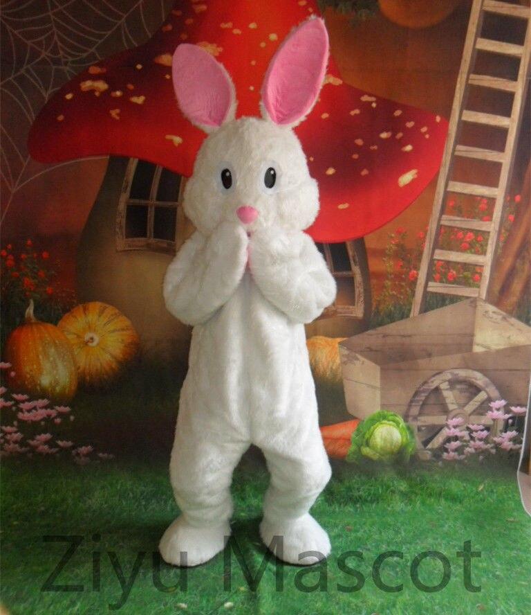 Nouveau Halloween lapin de pâques costume de mascotte Costumes Adulte Cosplay jeu de fêtes Robe vêtements Publicité Carnaval De Noël