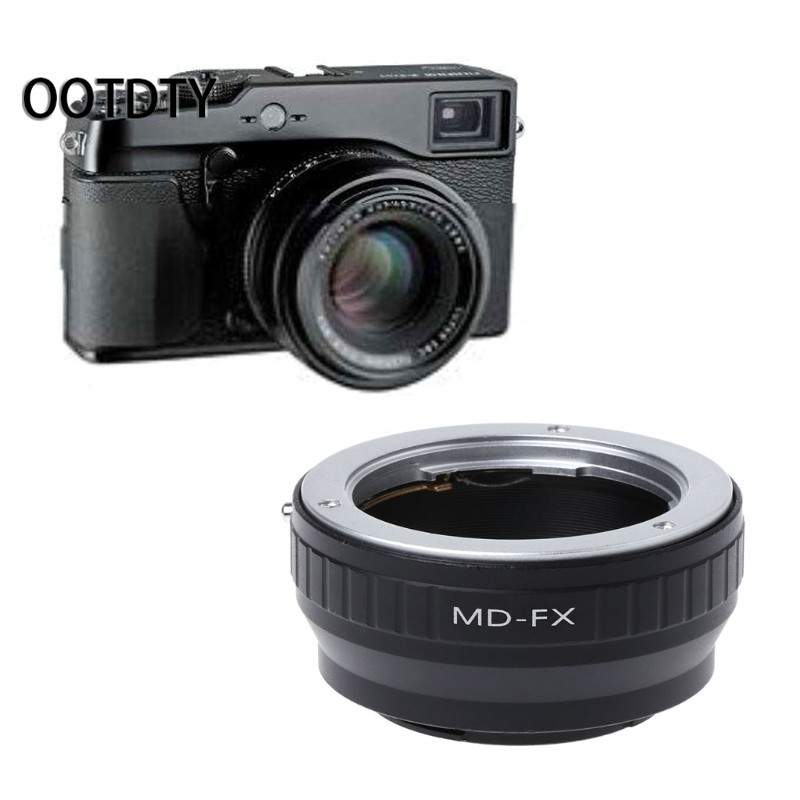 OOTDTY Camera Ring Adapter for MD-FX Mount Adapter Ring For Minolta MD SR Lens for Fujifilm X Mount for Fuji X-Pro1