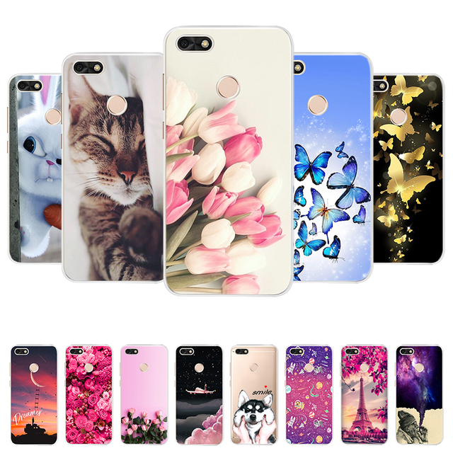 release date: da7a8 fccd4 US $0.8 24% OFF|For Huawei Y6 Pro 2017 Case Cover For Huawei Nova Lite 2017  SLA L22 Back Cover For Huawei P9 Lite Mini Soft Silicone Phone Case-in ...