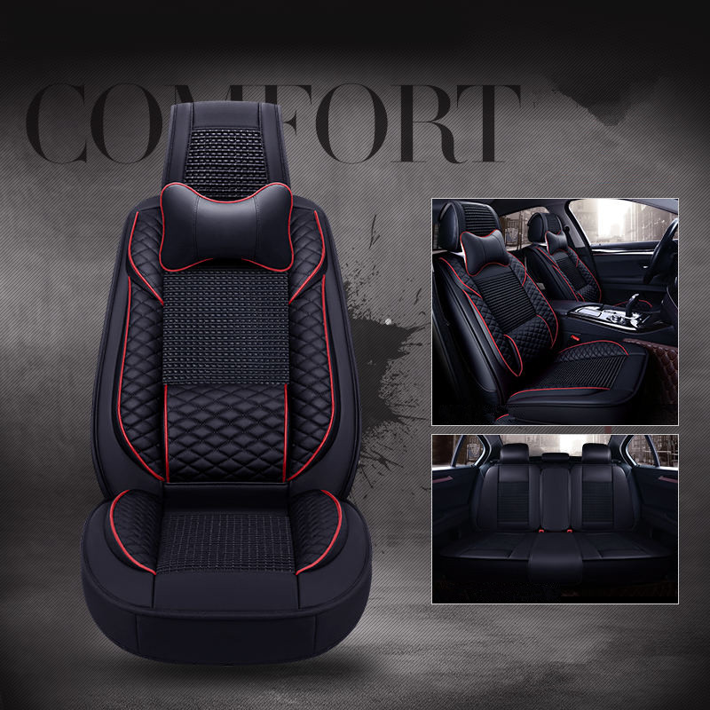 The new 6D Styling Car Seat Cover For Toyota Camry 40 RAV4 Verso FJ Land Cruiser LC 200 Prado 150 120,Car pad,Styling стоимость