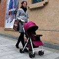 Oferta especial de Boa qualidade carrinho de Bebê dobrável portátil ultra-leve choque quatro rodas carro bb criança pequena do bebê menino e menina bicicleta