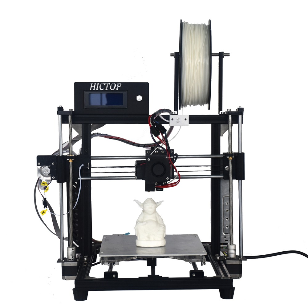 HICTOP Reprap Prusa I3 3D Printer with Filament Monitor and Auto Level Aluminum Function