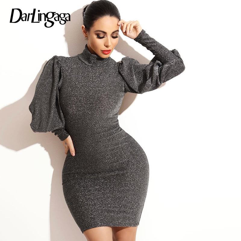 Buy elegant long sleeve bodycon glitter party dress and get free shipping  on AliExpress.com f84d00c5fa4c