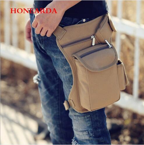 20pcs Outdoor Tactical Multi-functional Leg Bag Men's Bag Recreational Sport Luggage Fishing Gear Bag