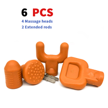 6pcs Percussion Massage Massage Adapter
