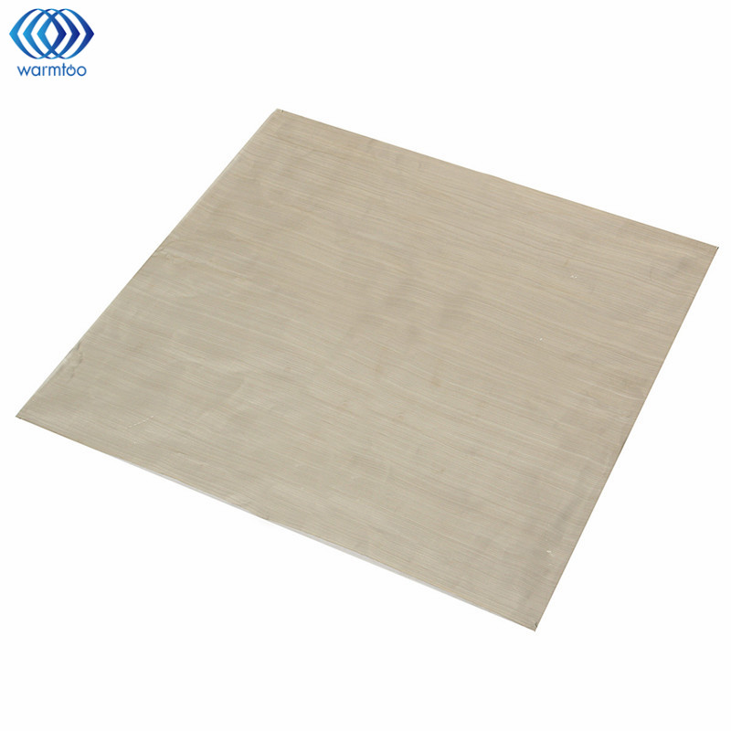 Durable 12x12 400 Mesh 304 Stainless Steel Woven Wire Mesh Filtration Filtering Industrial Paint Oil Water 100 mesh filtration woven wire stainless steel cloth screen water filter sheet 11 8 for filtering oil honey mayitr home tools