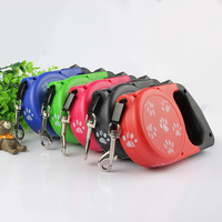 40KG 8M Retractable Nylon Dog Leashes Automatic Extendable Lead Walking Leash For Small Medium Large Dogs