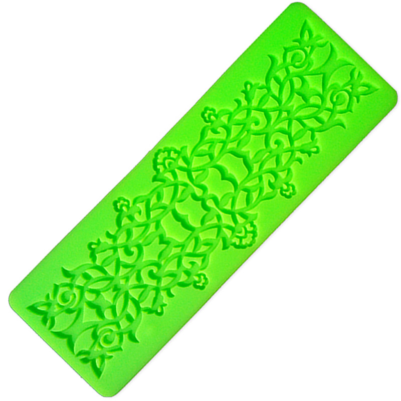 Cake Decorating Equipment Next Day Delivery : Free shipping silicone fondant lace mold cake decorating ...