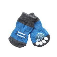 Мелких Животных Собака Собачка Обувь Милые Мягкие Теплые Вязаные Носки Одежда Одежды Зима Домашних Животных Обувь