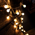 TSLEEN 40/70 Leds Lantern Balls LED String Lamp Christmas Xmas Wedding Window Room Garden Garland Tree Light EU