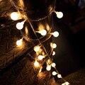 TSLEEN 40/70 Leds Lanterna Bolas LED String Lâmpada Quarto Janela Jardim do Casamento Do Natal Xmas Garland Árvore Luz DA UE