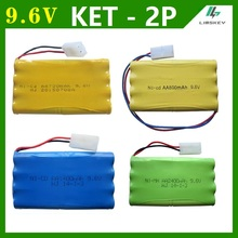 9.6V 700/800/1000/1400/2400mAh AA Ni-Cd/Ni-MH battery