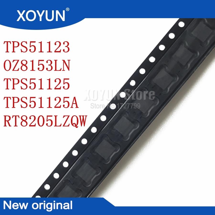 100%New TPS51123 51123 OZ8153LN 8153LN TPS51125 51125 TPS51125A 51125A RT8205LZQW RT8205L (EM DA,EM DB,EM..) QFN-24