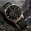 Hombres reloj de Cuarzo para hombre relojes de primeras marcas de lujo Ocasional Militar Deportes Reloj de Pulsera Correa de Cuero Masculino Reloj de los hombres relogio masculino