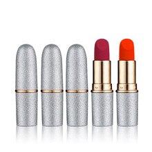12 Color Waterproof Matte Moisturizer Lipstick Long Lasting Red Sexy Lip Gloss Liquid Beauty Makeup