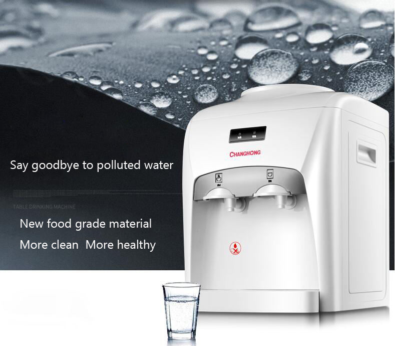 mini water dispenser/cooler drinking/water fountain, hot/cold water machine for home office drinking fountains home ice hot desktop cooling dormitory small mini energy saving special ice warm water dispenser