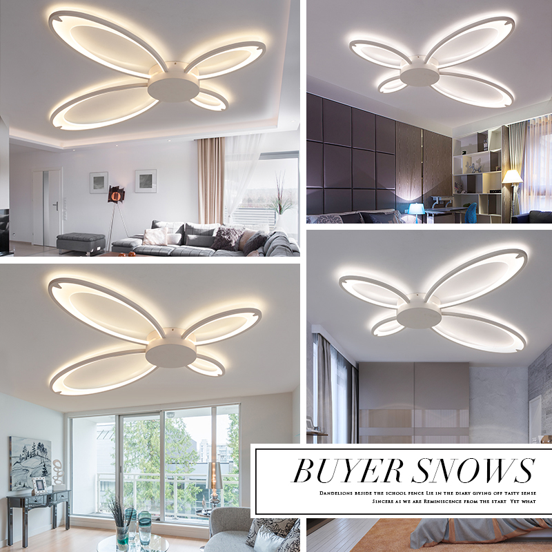 New Ceiling Lamp For Living Room Surface Mounted Ceiling Lights Modern Lamp Ceiling Acryl Led Living Room Lights Delicious In Taste Ceiling Lights