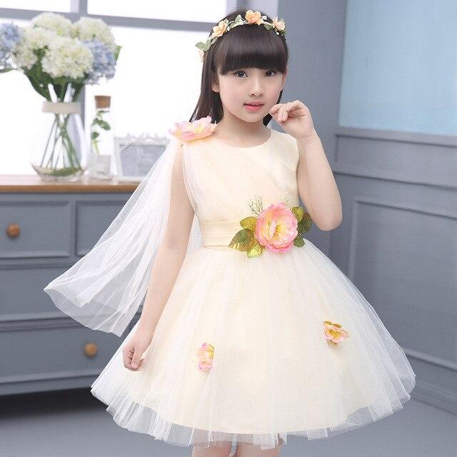 Kinder Kleidungsstück Voller Kleid Kinder Prinzessin Blumenmädchen ...