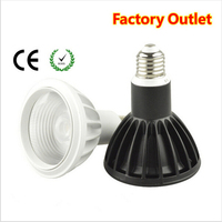 PAR38 Aluminum+Glass cover LED Bulb 16w E27 LED Lamp COB Spot Lighting Indoor light AC85 265V Free Shipping