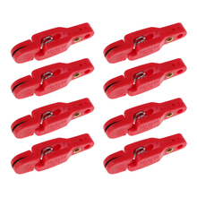 Heavy Tension Release Clips Snap Offshore Planer Board Outrigger Downrigger Clip Fish Tool Accessories pack of 4 kayak boat trolling clip outrigger release downrigger boat fishing bait line release