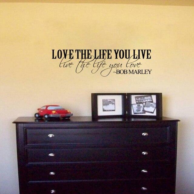 englisch zitate vinyl wandtattoos englisch spr che poster wandkunst tapete wandaufkleber. Black Bedroom Furniture Sets. Home Design Ideas