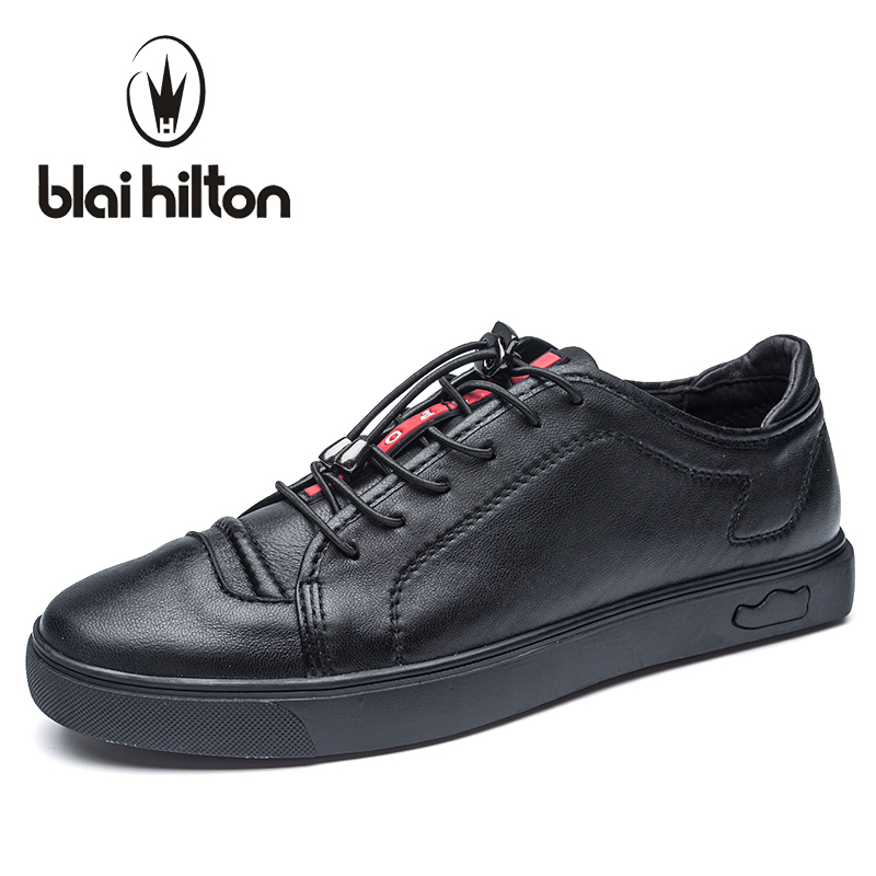Blaibilton men casual shoes Luxury Brand Genuine Leather Flat Fashion Designer Breathable Mens Shoes Casual Male Footwear SD6219 2017 italy new brand designer golden genuine leather casual men shoes goose all sport star breathe shoes footwear zapatillas