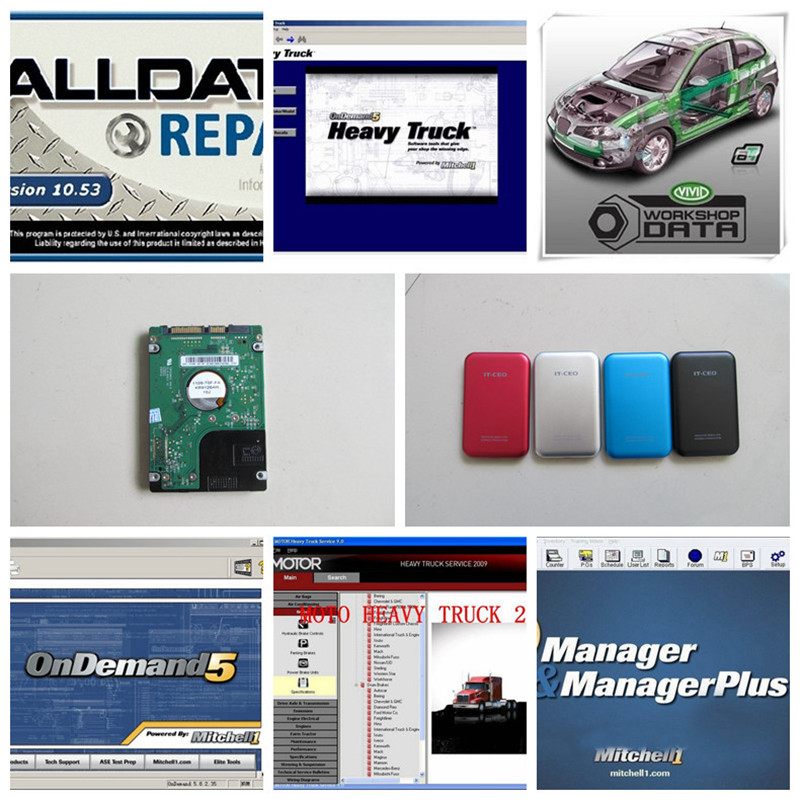 49in1 auto repair software alldata and mitchell on demand 2015+ vivid workshop+ atsg+ manager plus+ elsawin win7/8/xp