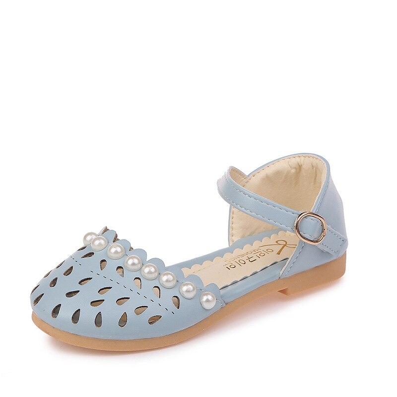 Davidyue Summer Girls Sandals Pear Princess Glitter Sandals Kids Girls Soft Shoes Girls Sandals Low-heeled Dress Party Shoes