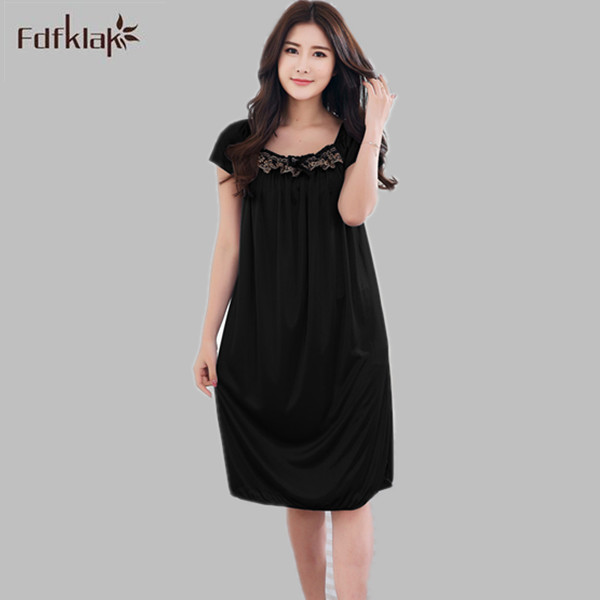 Hot 2017 New Fashion Women   Nightgowns   &   Sleepshirts   Summer   Nightgown   Sexy Sleepwear   Nightgown   Silk Sleepwear Home Clothes E0988
