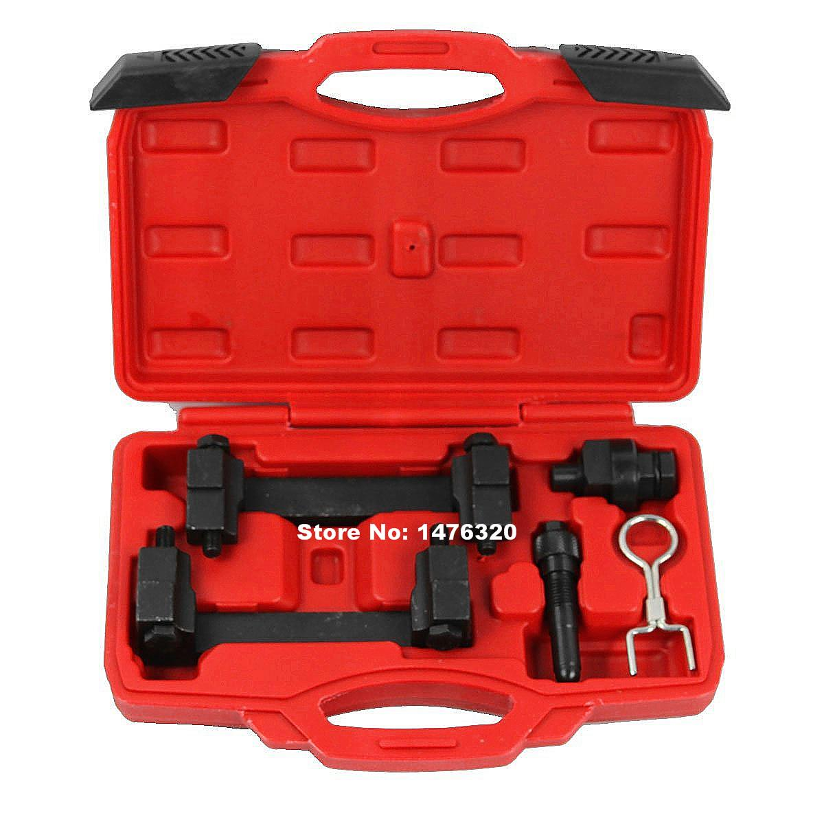 Auto Engine Camshaft Locking Alignment Timing Tool Car Repair Garage Tools Kit For VW Audi VAG 2.4/3.2 FSI V6 V8 V10 AT2070 engine timing crankshaft locking setting tool kit for vw audi seat skoda vag 1 6
