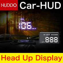 F206 HD Universal Car HUD GPS Speedometer Head UP Display Windshield Digital Car Speed Projector Overspeed Alarm For All Vehicle