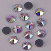 Lead Free AAA 5mm Crystal AB Star Facted (5 big+5 small) Flat Back Hotfix Crystals / Iron On Rhinestones