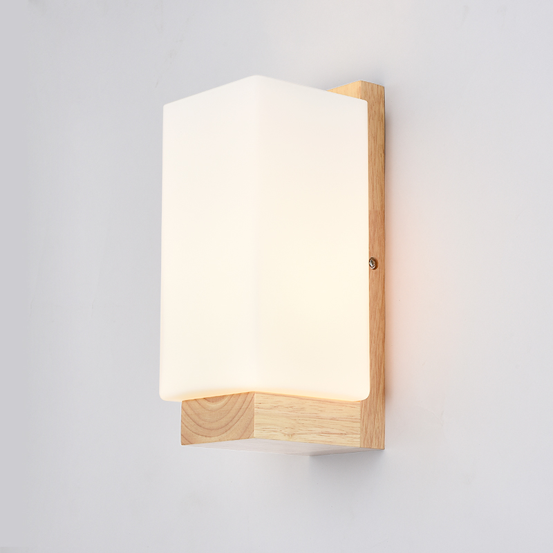 Wall Sconce Wooden Led Wall Lamp Fixtures With Fabric Lampshade Indoor Lighting Arandelas Lampara De Pared Wandlamp Led Indoor Wall Lamps