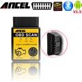 Obd2 сканер elm327 для android bluetooth адаптер 25k80 v1.5 Авто Код Читателя Мини 327 elm327 диагностический сканер инструмент для автомобилей