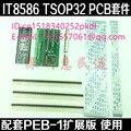 Suporte da placa de Expansão PEB-1 IT8586E IT8580E 29/39/49/50 série 32/40/48 pés BIOS