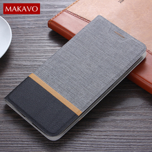 Makavo для Huawei Honor 9 случае классической искусственная кожа флип чехол мягкий силиконовый Fundas для Honor 9 телефон случаях