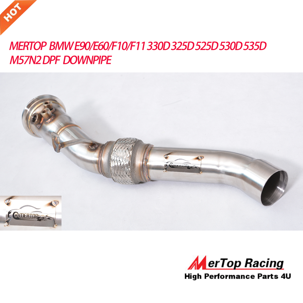 BMW F07 F10 F11 525d 530d 535d Xd Downpipe 76mm Particle Filter Replacement Pipe