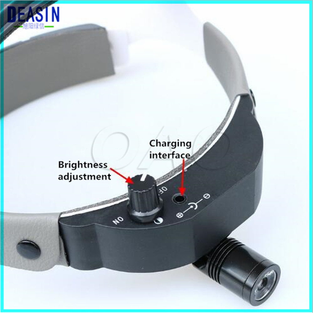 LED Surgical Headlight with helmet Dental Head Lamp Adapter Head Mounted Medical Light LED Surgical Headlight with helmet Dental Head Lamp Adapter Head Mounted Medical Light