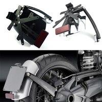 Для BMW R NINE T R NINET R9T Scrambler RACER PURE SPORT 2014 2018 заднее крыло мотоцикла кронштейн брызговик с светодиодный номерной знак