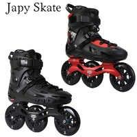Japy Skate Fliegen Adler F110 F110H Geschwindigkeit Inline Skates 3*110mm Räder Professionelle Erwachsene Roller Skating Schuh Freies skating Patine