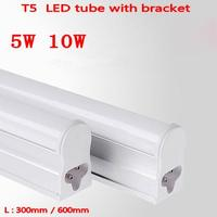 Aluminum LED Tube T5 Light 220V 240V 30cm 5W 60cm 10w 1ft 2ft LED Fluorescent Tube